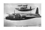 Wellington Bombers, C1940S Giclee Print