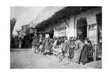 Arab Café, Kazimain, Iraq, 1917-1919 Giclee Print