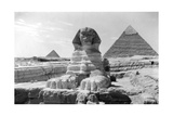 The Great Sphinx of Giza, Egypt, May 1949 Giclée-Druck