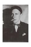 Portrait of the Author Mikhail Bulgakov (1891-194), 1920 Giclee Print
