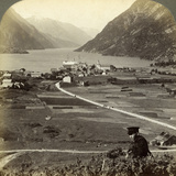 Odda, Hardangerfjord, Norway Photographic Print by  Underwood & Underwood