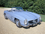 Mercedes 300SL Roadster, C1960 Photographic Print