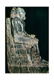 Statue of Pharaoh, Egypt, 4th Dynasty Giclee Print