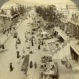 Jauhri Bazaar, Jeypore, Orissa, India Photographic Print by  Underwood & Underwood