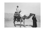 Woman on a Camel Tour, Egypt, C1920S-C1930S Giclee Print