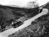 A Morris Oxford Climbing a Steep Hill in the Lake District, Cumbria, (C1920s) Photographic Print
