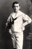 Mischa Elman (1891-196), Ukranian Violinist, Early 20th Century Photographic Print