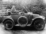 Woman in a 1911 Convertible Renault Ax, C1911 Photographic Print