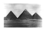 The Pyramids at Giza, Egypt, 1949 Giclee Print