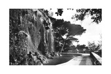 The Chateau Waterfall, Nice, South of France, Early 20th Century Giclee Print