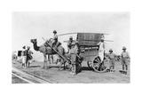 A Camel Cart, India, 1916-1917 Giclee Print