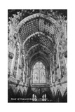 Roof of the Chancel, Rosslyn Chapel, Midlothian, Scotland, 20th Century Giclee Print