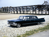 A 1961 Cadillac Presidential Limousine on a Beach Photographic Print