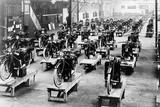 ABC Motorbike Factory, 1921 Reproduction photographique