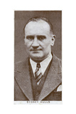 Sydney Hulls, British Boxing Promoter, 1938 Giclee Print