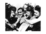 Ve Day Celebrations, Paris, 8 May 1945 Giclee Print