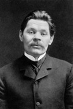 Portrait of the Author Maxim Gorky (1868-193), C. 1906 Photographic Print