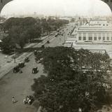 Chowringhee Road, Calcutta, India, C1900s Photographic Print