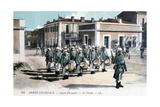 Marching Band, French Foreign Legion, C1910 Giclee Print