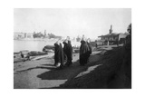 Women Water Carriers, Tigris River, Baghdad, Iraq, 1917-1919 Giclee Print