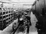 Assembly Line of the Morris Bullnose, Cowley, Oxfordshire, 1925 Photographic Print