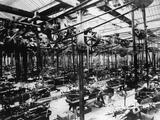 The Austin Car Factory at Longbridge, Birmingham, 1913 Photographic Print