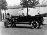 Josephine Boston with a 1914 Cadillac Photographic Print