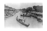 Ashar Creek, Basra, Iraq, 1917 Giclee Print