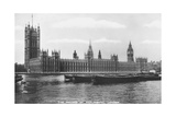 The Houses of Parliament, Westminster, London, 1933 Giclee Print
