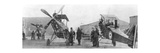 British Royal Flying Corps Aircraft under Repair, C1916 Giclee Print