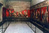 Frieze of the Villa of the Mysteries, Pompeii Photographic Print