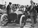 1909 Lancia Beta, Wl Stewart at the Wheel, C1909-C1920 Photographic Print