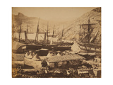 Russian Warships in the Cossack Bay, Balaklava, Ca 1855 Giclee Print by Roger Fenton