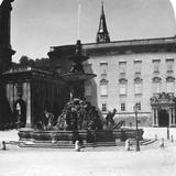Court Fountain and Residence, Salzburg, Austria, C1900s Photographic Print
