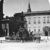 Court Fountain and Residence, Salzburg, Austria, C1900s Photographic Print by  Wurthle & Sons