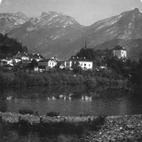 Golling and Tennengebirge, Salzburg, Austria, C1900s Photographic Print by  Wurthle & Sons