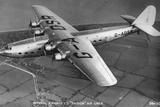 Imperial Airways Ltd Ensign Air Liner, C1930S Photographic Print