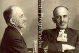 A Mug Shot of Osip Mandelstam, 1934 Photographic Print