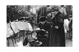 Stamp Sellers in the Champs Elysees, Paris, 1931 Giclee Print by Ernest Flammarion