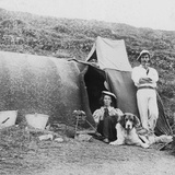 Camping, Early 20th Century Photographic Print