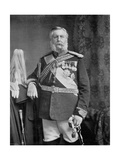 General Prince Edward of Saxe-Weimar, 1896 Giclee Print by Elliott & Fry