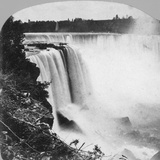 Horseshoe Falls as Seen from Goat Island, Niagara Falls, Early 20th Century Photographic Print by George Barker