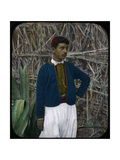 A Jewish Boy, Tangier, Morocco Giclee Print