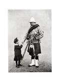 Good-Bye, Daddy, 1901 Giclee Print by FGO Stuart