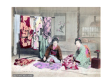 Japanese Dressmakers Giclee Print