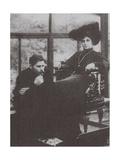 Maxim Gorky and Maria Andreyeva, 1905 Giclee Print