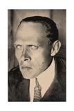 Daniil Kharms (1905-194), Early 1930s Giclee Print