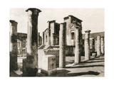 Tempio D'Iside, Pompeii, Italy, C1900s Giclee Print