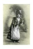 Charlotte Wiehe, 1901 Giclee Print by Charles Reutlinger