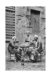 Men Relaxing, Cairo, Egypt, C1922 Giclee Print by Donald Mcleish